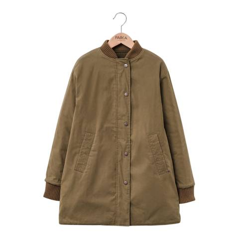 PARKA LONDON Women's Green Frances Reversible Bomber