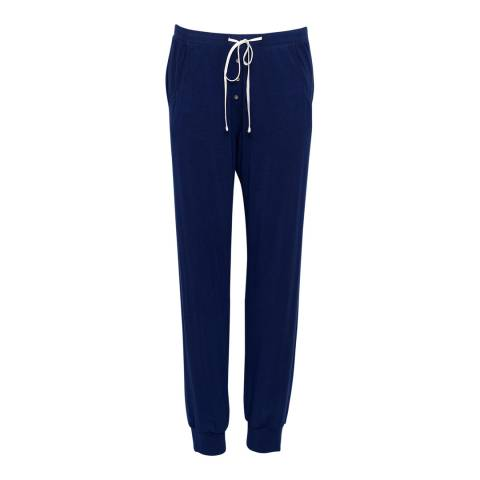 Cyberjammies Navy Sadie Super Soft Knit Pyjama Pant