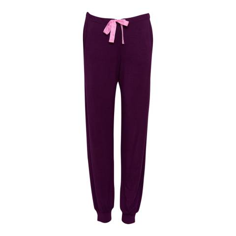 Cyberjammies Purple Anna Super Soft Knit Pyjama Pant