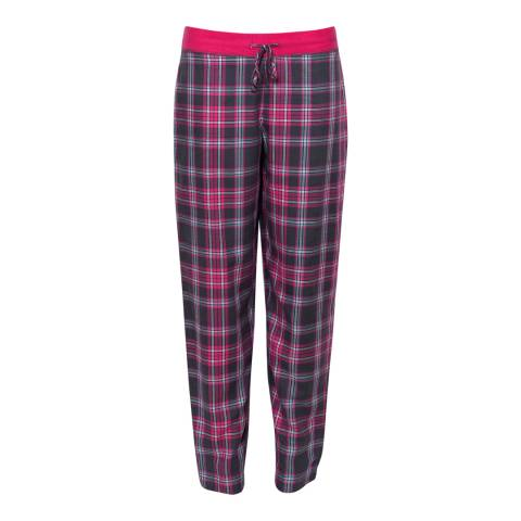 Cyberjammies Pink Bella Woven Check Pyjama Pant