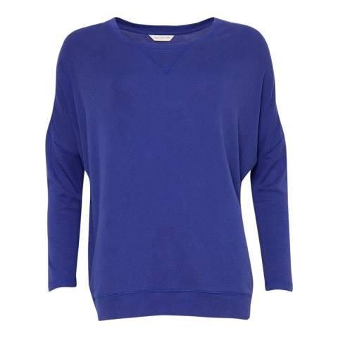 Cyberjammies Blue Connie Long Sleeve Knit Pyjama Top