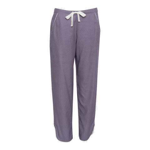 Cyberjammies Purple Abigail Woven Spot Print Pyjama Pant