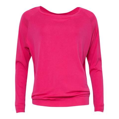 Cyberjammies Pink Bella Long Sleeve Knit Pyjama Top