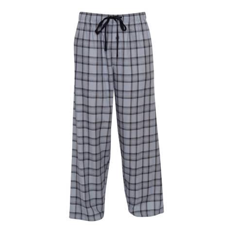 Cyberjammies Navy Max Woven Check Pyjama Trousers