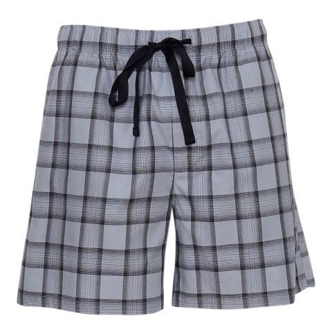 Cyberjammies Navy Max Woven Check Shorts