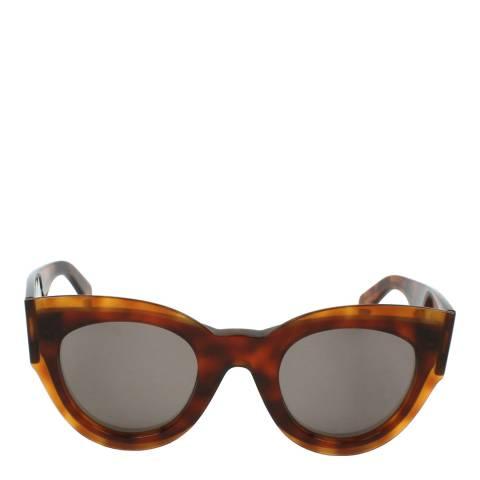 Celine Women's Tortoise Petra Sunglasses 48mm