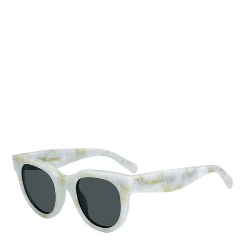 Celine Women's White Baby Audrey Sunglasses 47mm