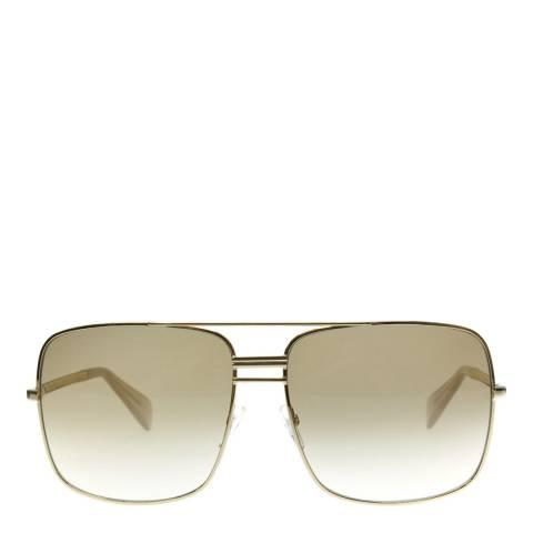 Celine Women's Gold Metal Sunglasses 61mm