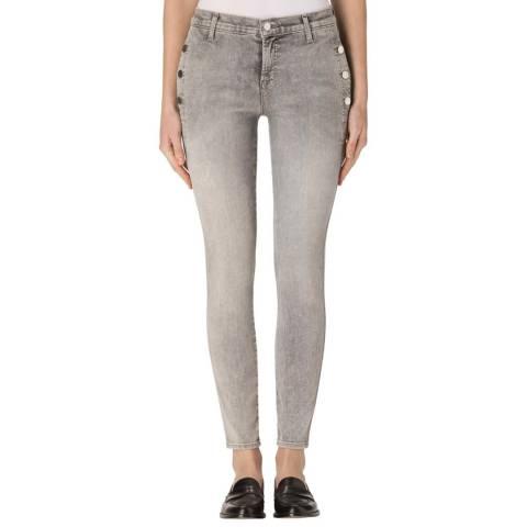 J Brand Interstellar Zion Mid Rise Skinny Jeans