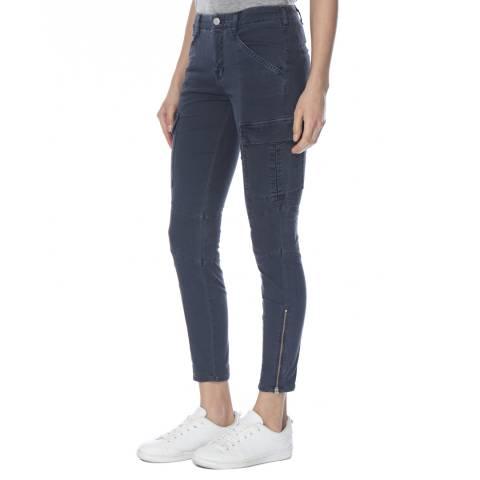 J Brand Seaway Green Mid Rise Houlihan Cargo Trousers