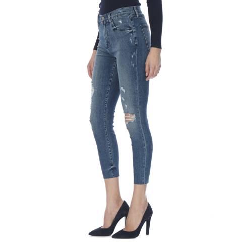 J Brand Dreamer Debutante Alana High Rise Crop Skinny Jeans