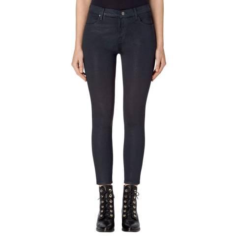 J Brand Delirious Faith Navy Alana High Rise Crop Skinny Jeans