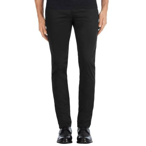 J Brand Black Brooks Slim Stretch Trousers