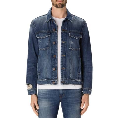 J Brand Terebellum Blue Gorn Jacket