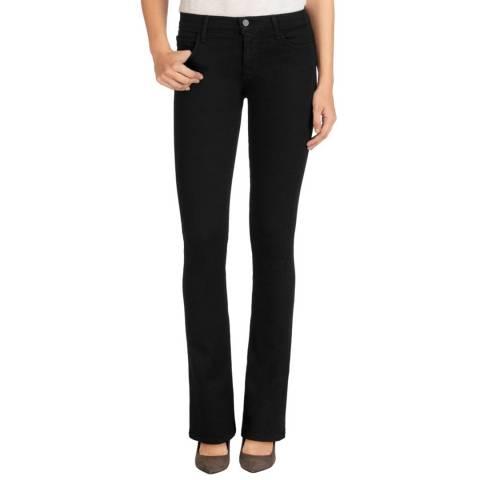 J Brand Vanity Black Betty Boot Cut Stretch Jeans