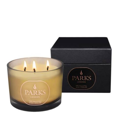 Parks London Brown Moods Special Edition Three Wick Candle