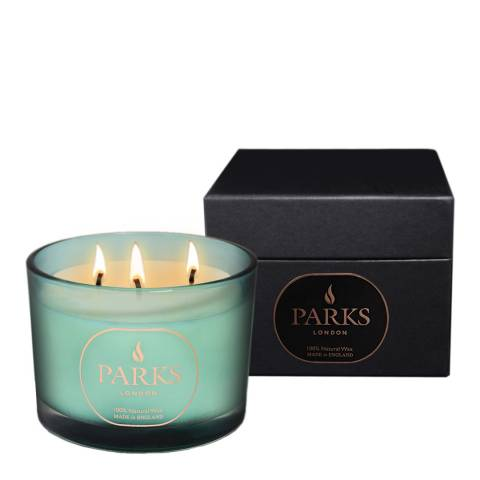 Parks London Turquoise Moods Special Edition Three Wick Candle