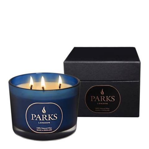 Parks London Blue Moods Special Edition Three Wick Candle