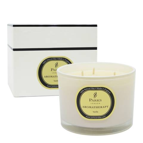 Parks London Vanilla Three Wick Aromatherapy Candle