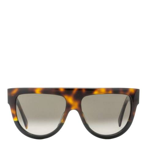 Celine Women's Brown/Black Shadow Sunglasses 58mm