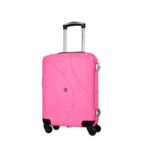 Platinium Rose Spinner Hinakura Suitcase 53cm