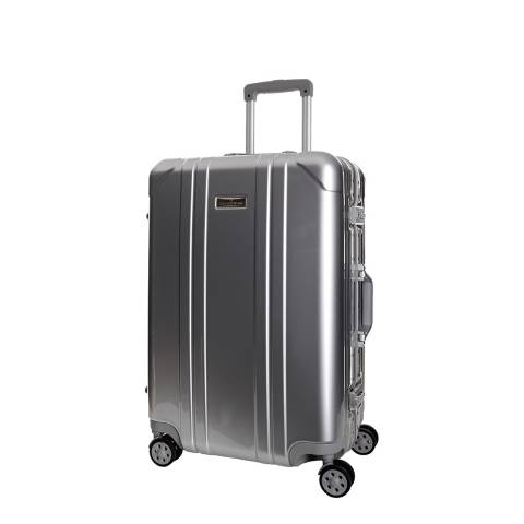 Platinium Grey Spinner Keihley Suitcase 46cm