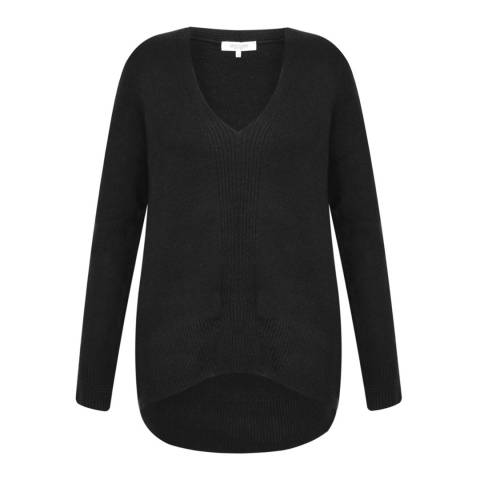 Great Plains Black Essentials Vespa Knit Jumper