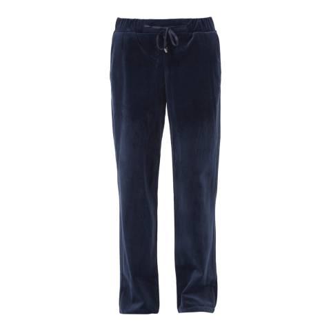 Great Plains Classic Navy Wren Velvet Drawstring Trousers