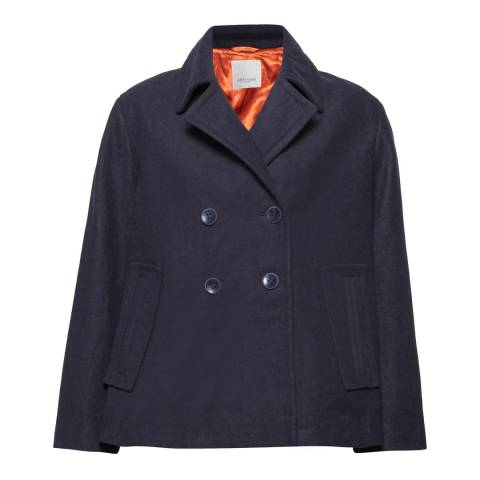 Great Plains Classic Navy Millbrook 4 Button Wool Blend Jacket