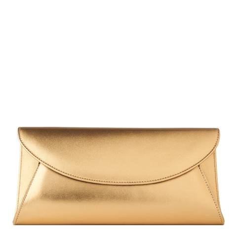 L K Bennett FLO MET-BRONZE METALLIC LEATHER