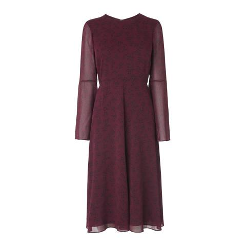 L K Bennett Ruby Red Celia Dress