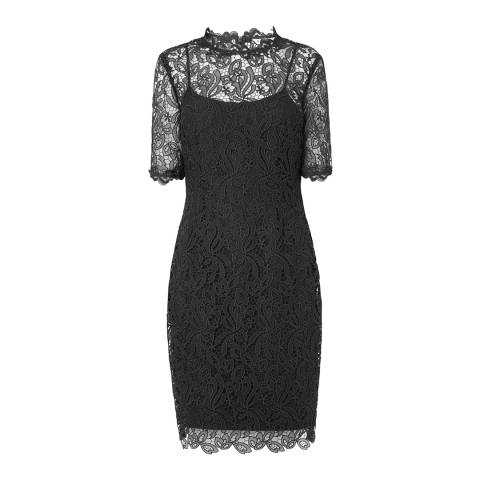 L K Bennett Black Sasha Dress