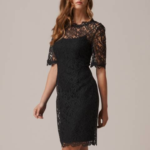 L K Bennett Black Sasha Dress