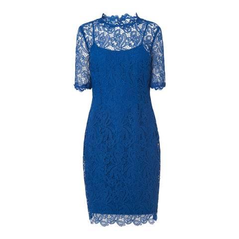 L K Bennett Imperial Blue Sasha Dress