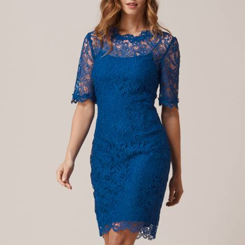 L K Bennett Imperial Blue Sasha Dress