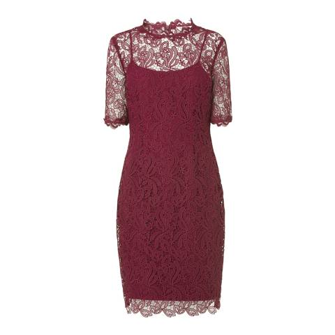 L K Bennett Ruby Red Sasha Dress
