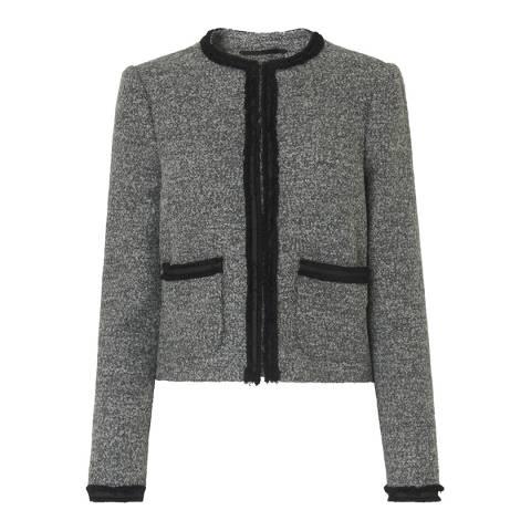L K Bennett Grey Holly Jacket