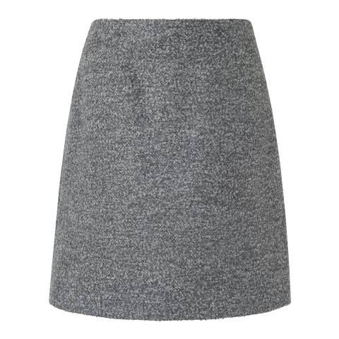 L K Bennett Grey Holly Tweed Skirt