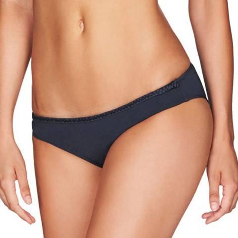 Heidi Klum Intimates Charcoal Sun Muse Shimmer Classic Bikini Briefs