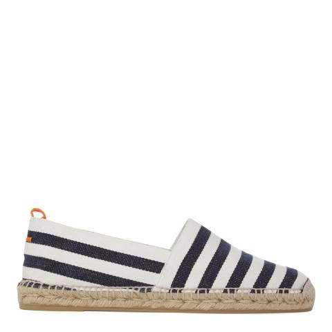Castaner Men's Navy Stripe Jacobo Espadrilles