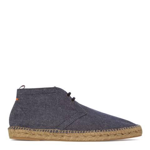 Castaner Denim Blue Desert Boots