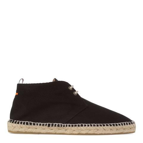 Castaner Mens Black Lace Up Desert Boot