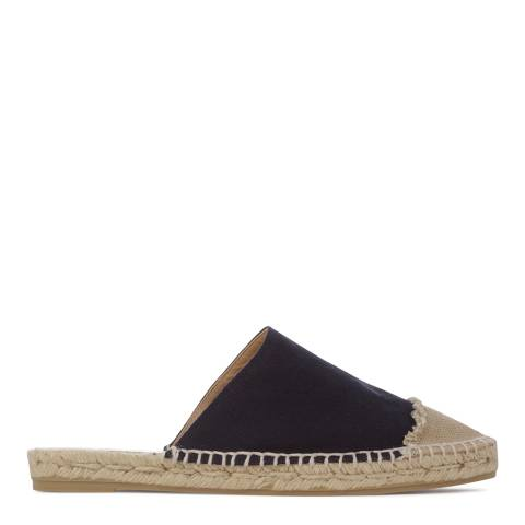 Castaner Womens Navy Kisi Espadrille Slip On Shoes