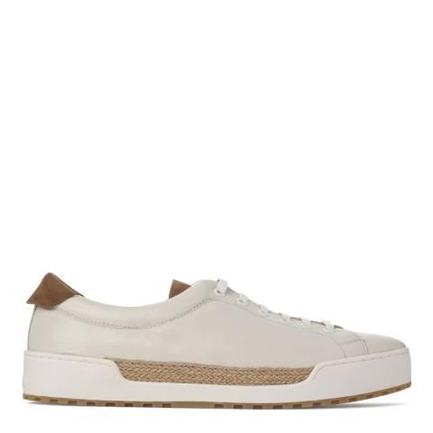 Castaner Cream Leather C Blas Sneakers