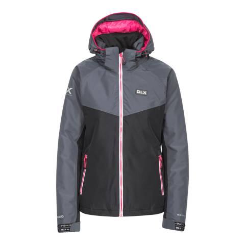 DLX Black/Grey Crista Ski Jacket
