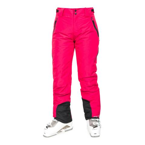 Trespass Women's Raspberry Red Sena Ski Pants