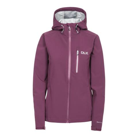 Trespass Women's Purple Edin Softshell Jacket