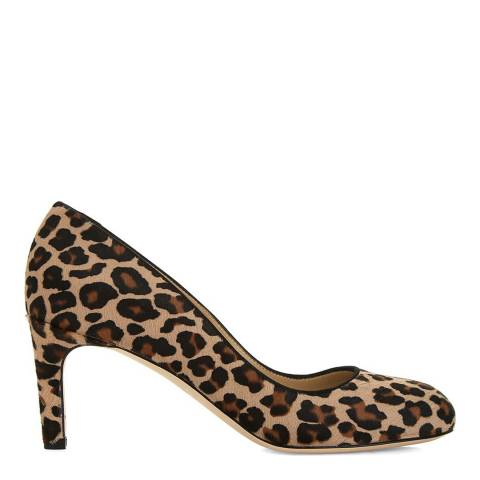 Hobbs London Mini Leopard Sophia Court Shoes