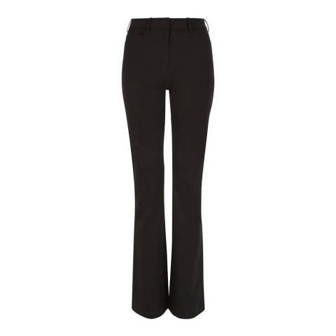 Hobbs London Black Amanda Bootleg Stretch Jeans