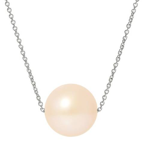 Mitzuko Pink Pearl White Gold Necklace